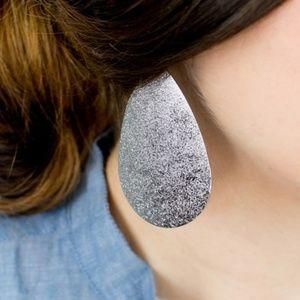 New! BOGO Metal Drop Earrings *Gunmetal*